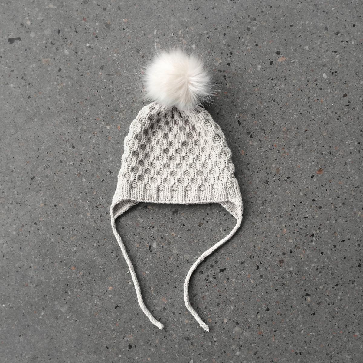 Lille bie lua / Little bee hat | Pretty Knitting | Pinterest