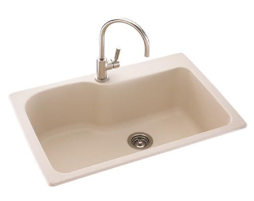 "Swanstone Large 10""d Single Bowl Kitchen Sink At Menardswant Classy Menards Kitchen Sinks Design Inspiration"