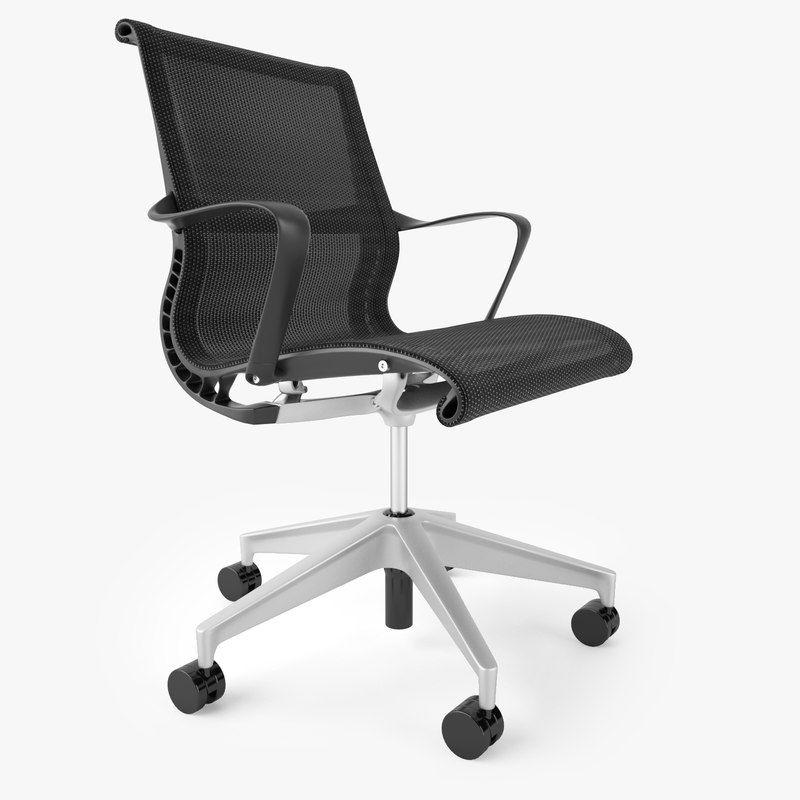 3d Herman Miller Setu Office Chair Office Chair Chair Beach Chair Umbrella