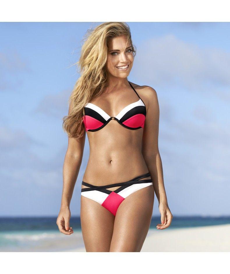 8157470dc63 Hunkemoller Bikini Sylvie Color Wave #bikinis #bikinisdesigns ...