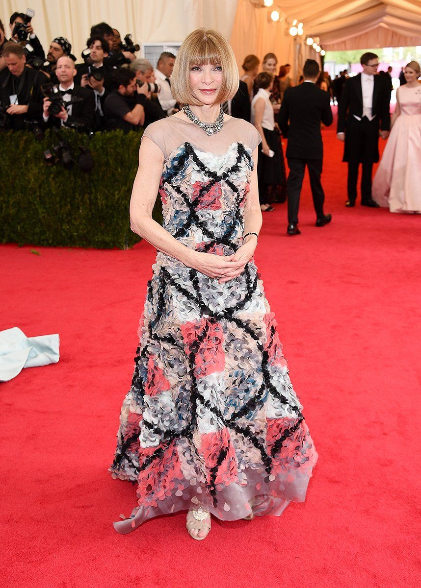 Met Gala 2014 - Anna Wintour in Chanel Couture