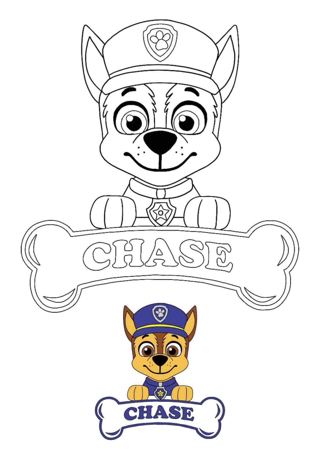 Paw Patrol Chase Coloring Pages 4 Free Printable Coloring Sheets 2020 Paw Patrol Coloring Pages Paw Patrol Coloring Chase Paw Patrol