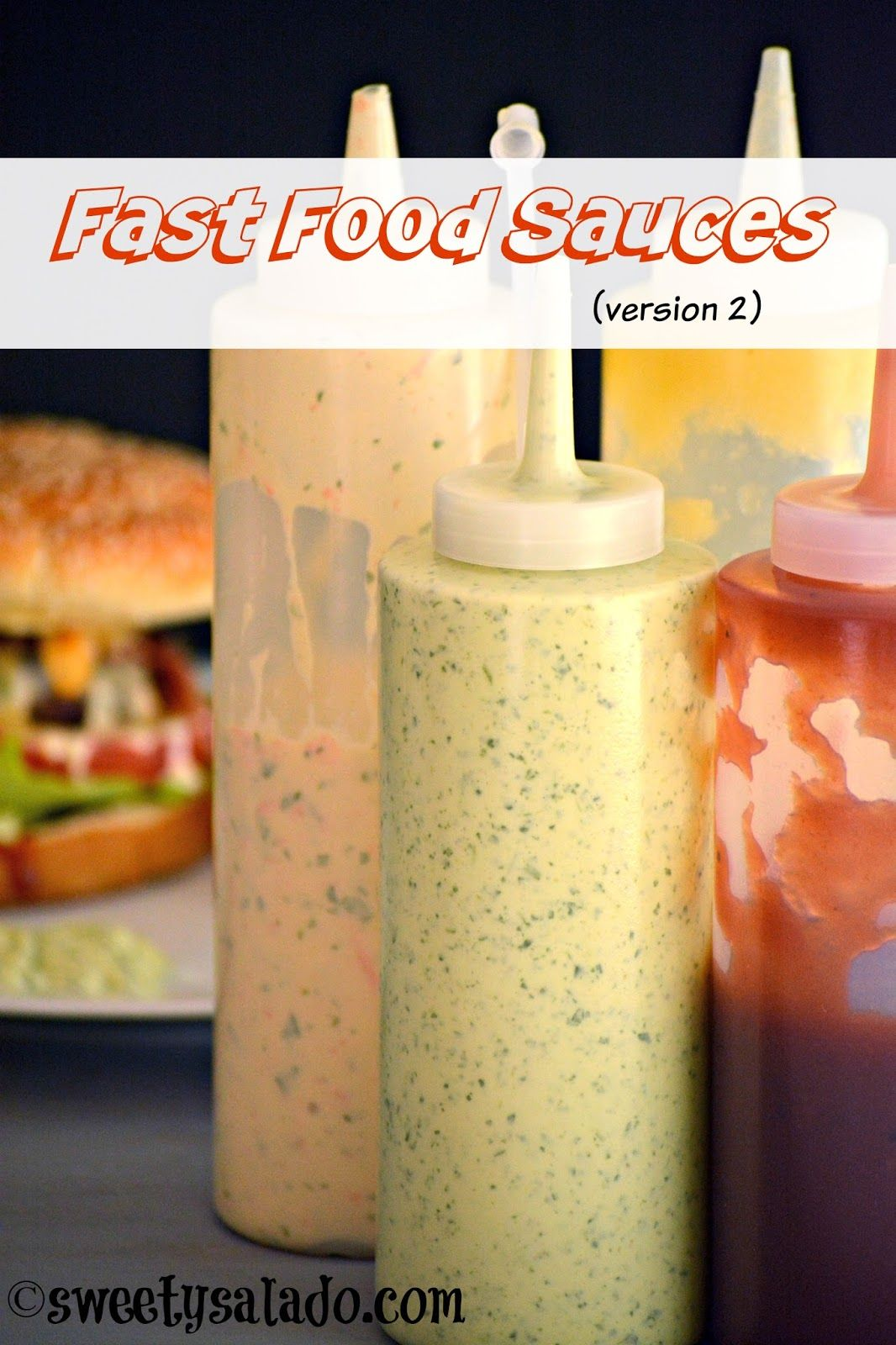 Fast Food Sauces (Version 2) - Sweet y Salado