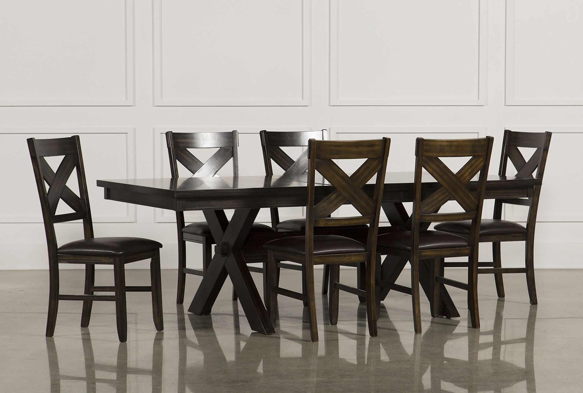 Pelennor 7 Piece Dining Set Living Spaces Dining Set Dining