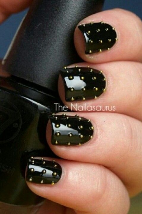 Unique nails | Sedallia Stuff | Pinterest | Nail nail, Stud nails ...
