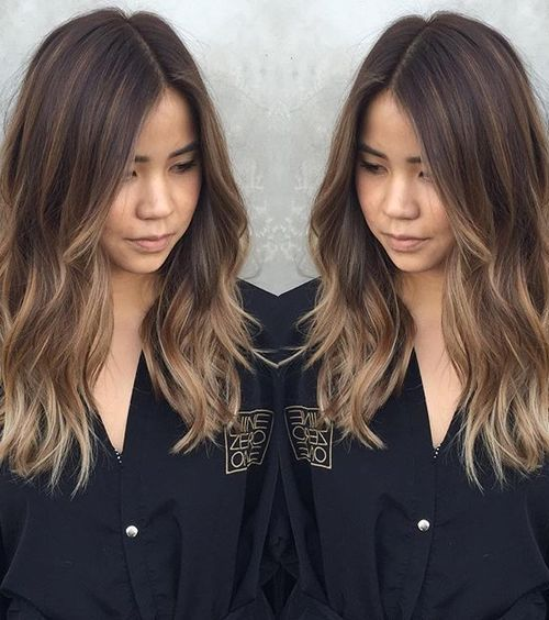 21 Fantastic Easy Shoulder-Length Hairstyles | Balayage hairstyle ...