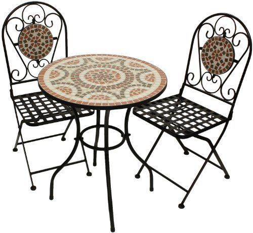 Garden Furniture Mosaic single table paper napkins craft party for decoupage sagen 25