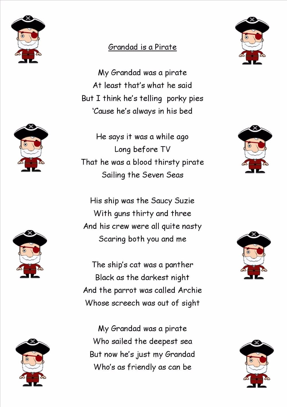 Ks1 Sats Practice Reading Comrehension Inference And Deduction Questions Pirates Theme Comprehension Booklet Reading Comrehension Reading Comprehension [ 1414 x 1000 Pixel ]