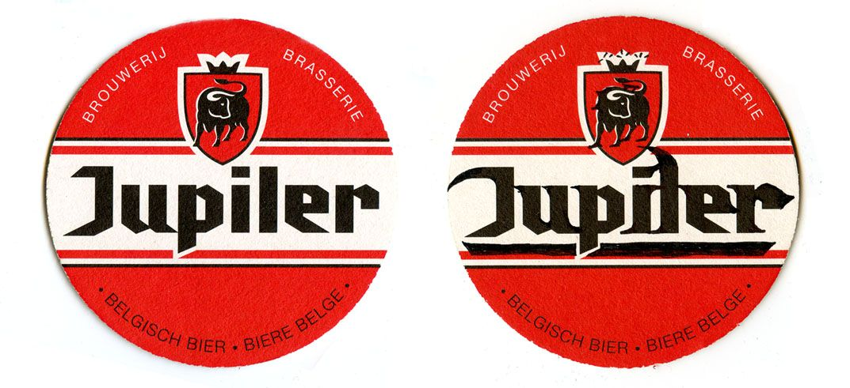 Jupiler coaster / typecooking
