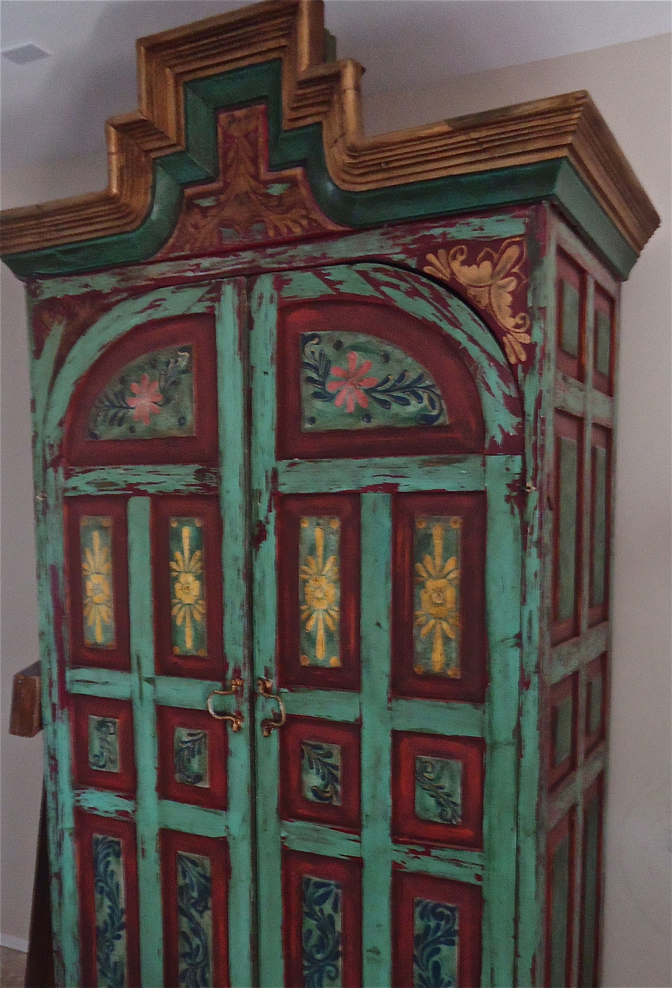 Painted Mexican Furniture Share