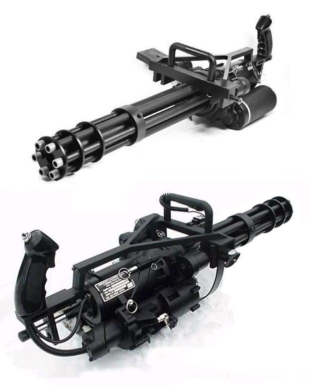 GE M134 Minigun - Gatling gun - around 3,000 rounds per ...