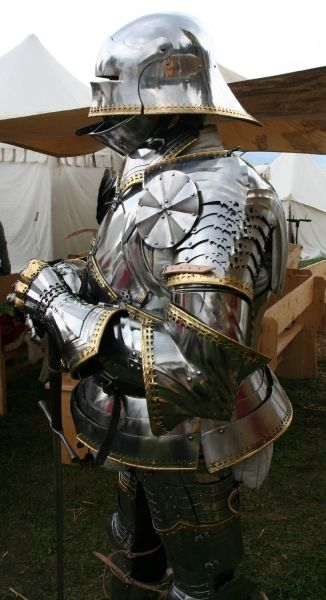 For Sale: 15th Century full gothic plate armour, Pavel ...
