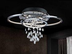 Plafoniere Industrial Style : Plafoniere moderne con perline di vetro collezione bruma