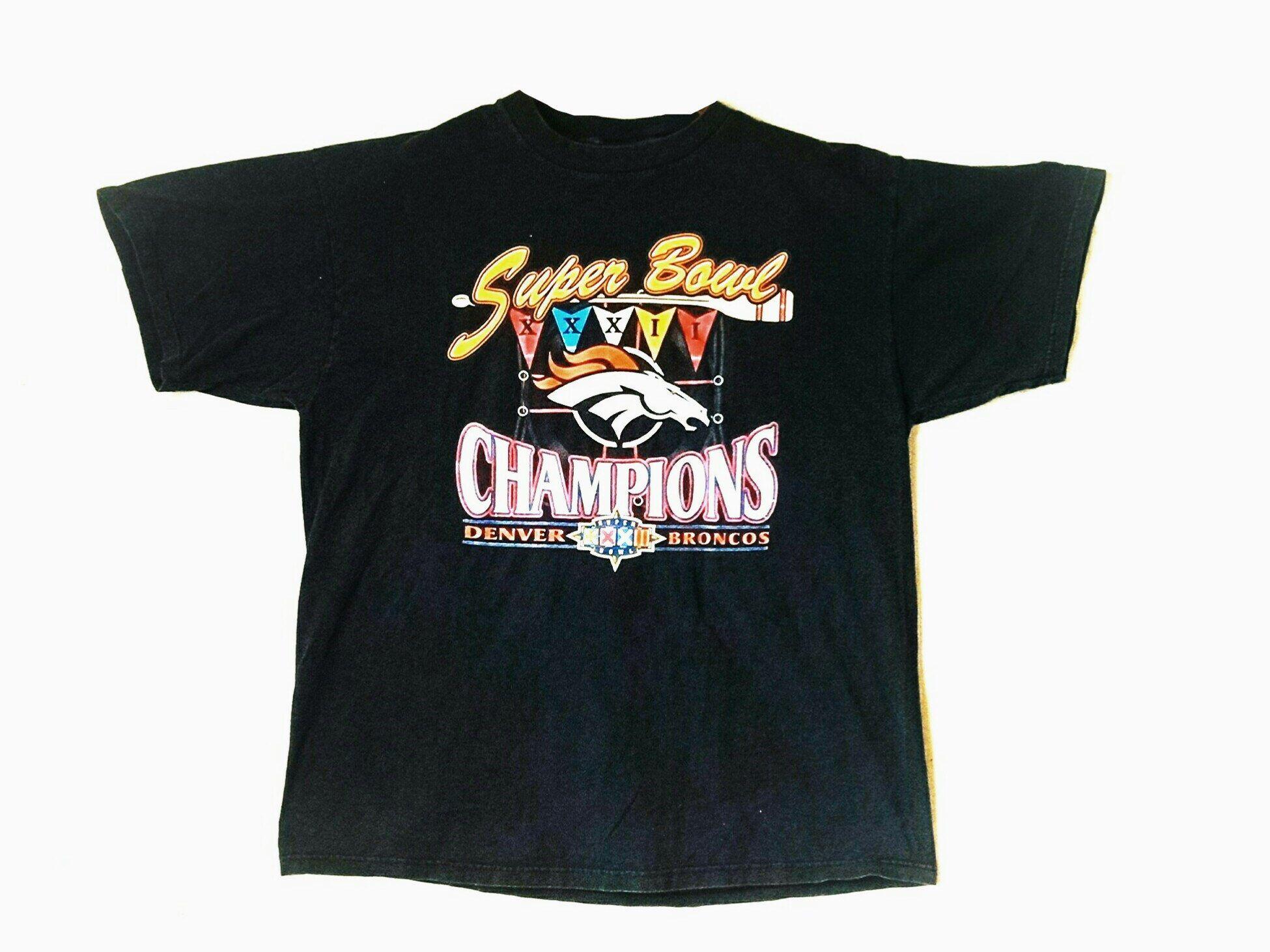 Vintage 1998 Denver Broncos NFL Super Bowl XXXII