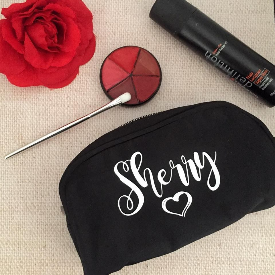 Personalised Makeup Purse Australia Cosmetiqueras