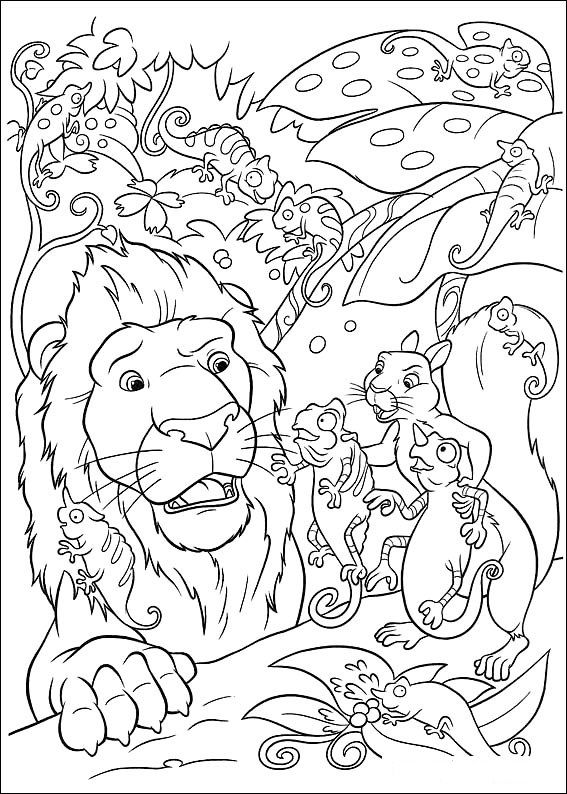 disneys the wild coloring pages - photo#10