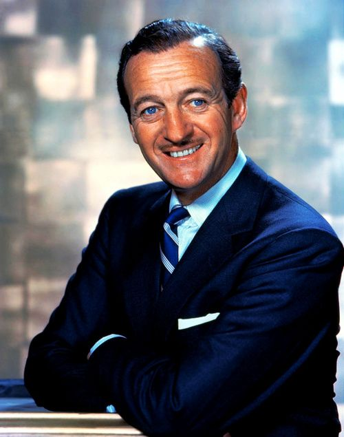 David Niven  (James David Graham Niven; 1 March 1910 – 29 July 1983), he  looks so much of my father.....love his films and his fine English humor!