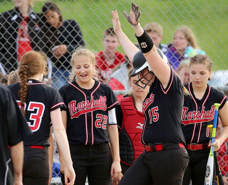 Photos Marshall Shuts Out Palmyra Eagle In Regional Final Marshall High School Softball Photo