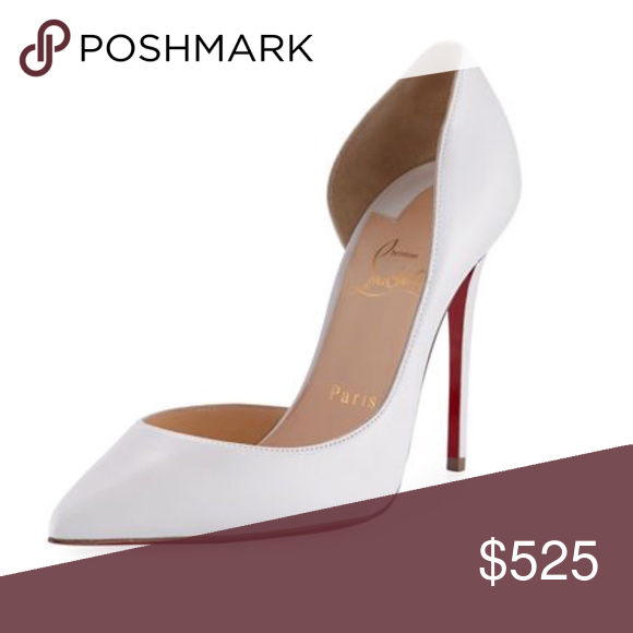 """9e4421a6db157 Christian Louboutin """"Iriza Half-d Orsay"""" heels 100% authentic. Purchased  from Nordstrom 7 months ago. Good condition Christian Louboutin Shoes Heels"""