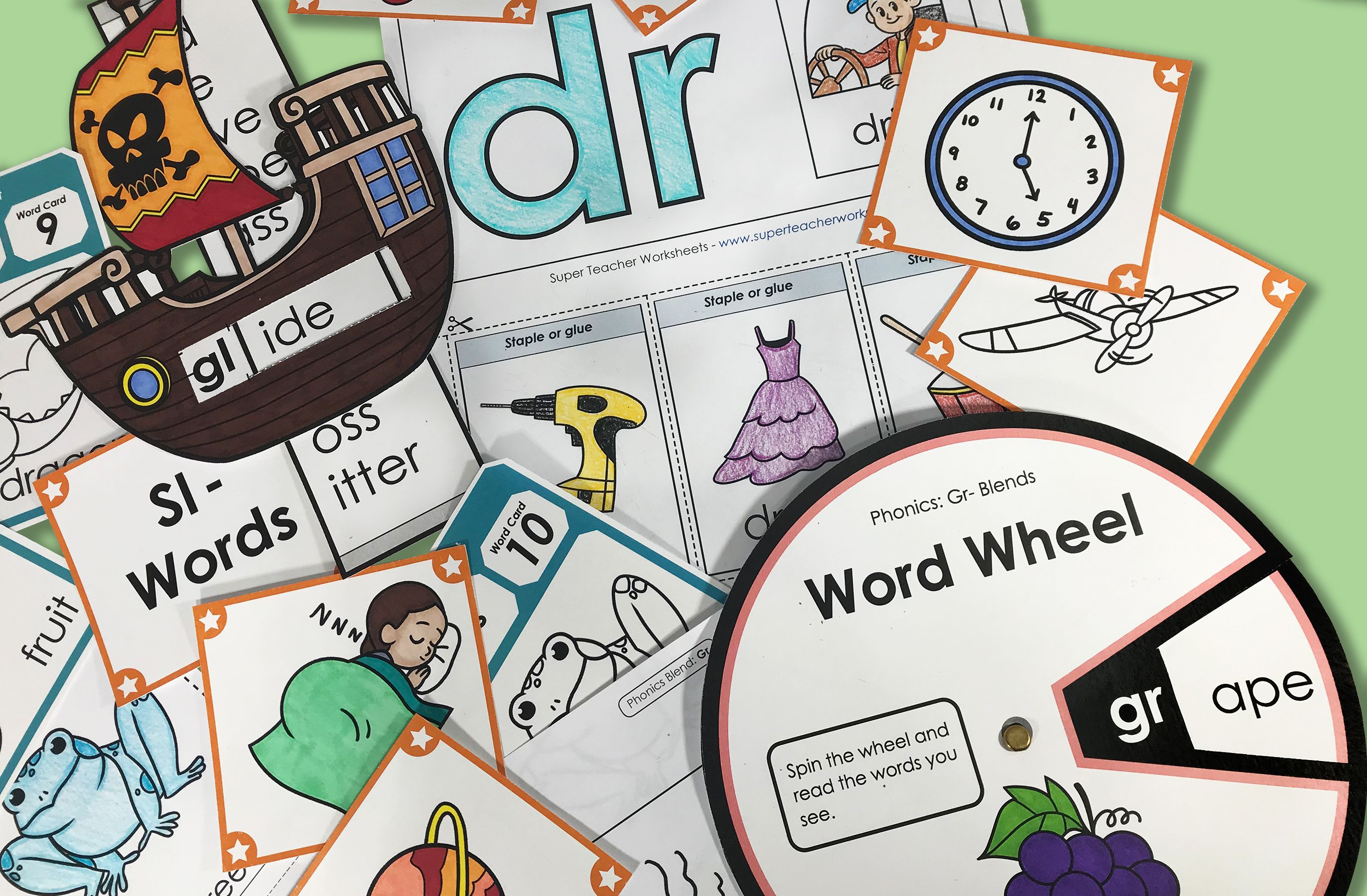 Check Out The Superteacherworksheets Phonics Collection
