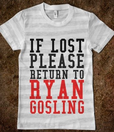 IF LOST RETURN TO RYAN - grey and white stripes in a Medium!