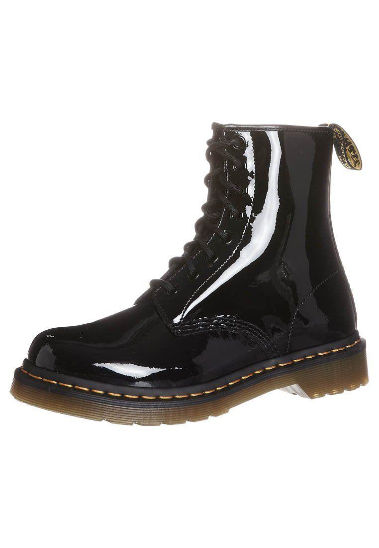 1460 8 Eye Boot Lamper Nauhalliset Nilkkurit Black Zalando Fi Boots Dr Martens Boots Black Boots