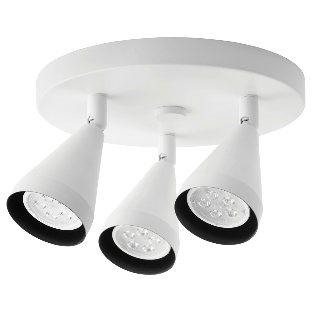 Navlinge Ceiling Spotlight With 3 Lights White Ikea In 2020 Ceiling Spotlights Led Ceiling Spotlights Ceiling Lamp