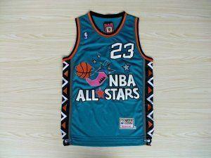 pick up f1f4e 03395 Michael Jordan Mitchell & Ness Blue 1996 NBA All-Star Game ...