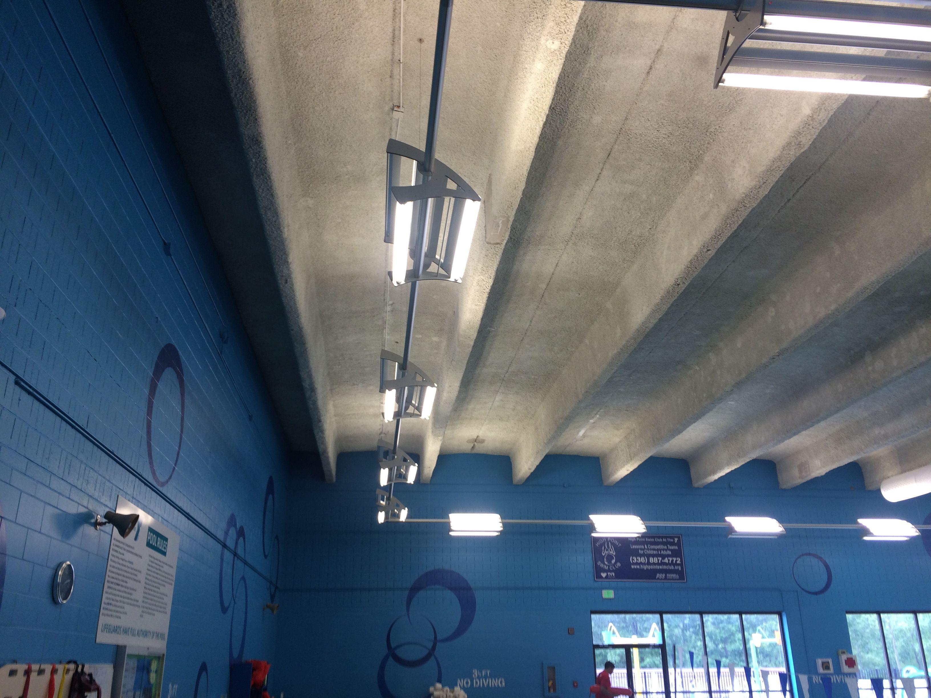 Fluorescent Lightruss Natatorium Fixture By Spi Lighting