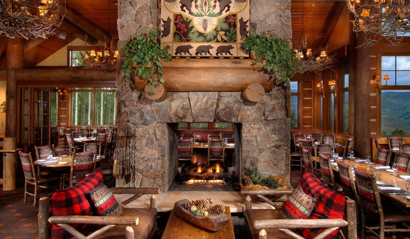 Zach's Cabin is a mountain restaurant in Beaver Creek