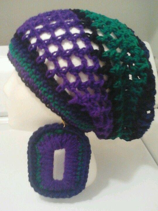 Awesome Crochet Peacock Rasta Tam | crochet | Pinterest