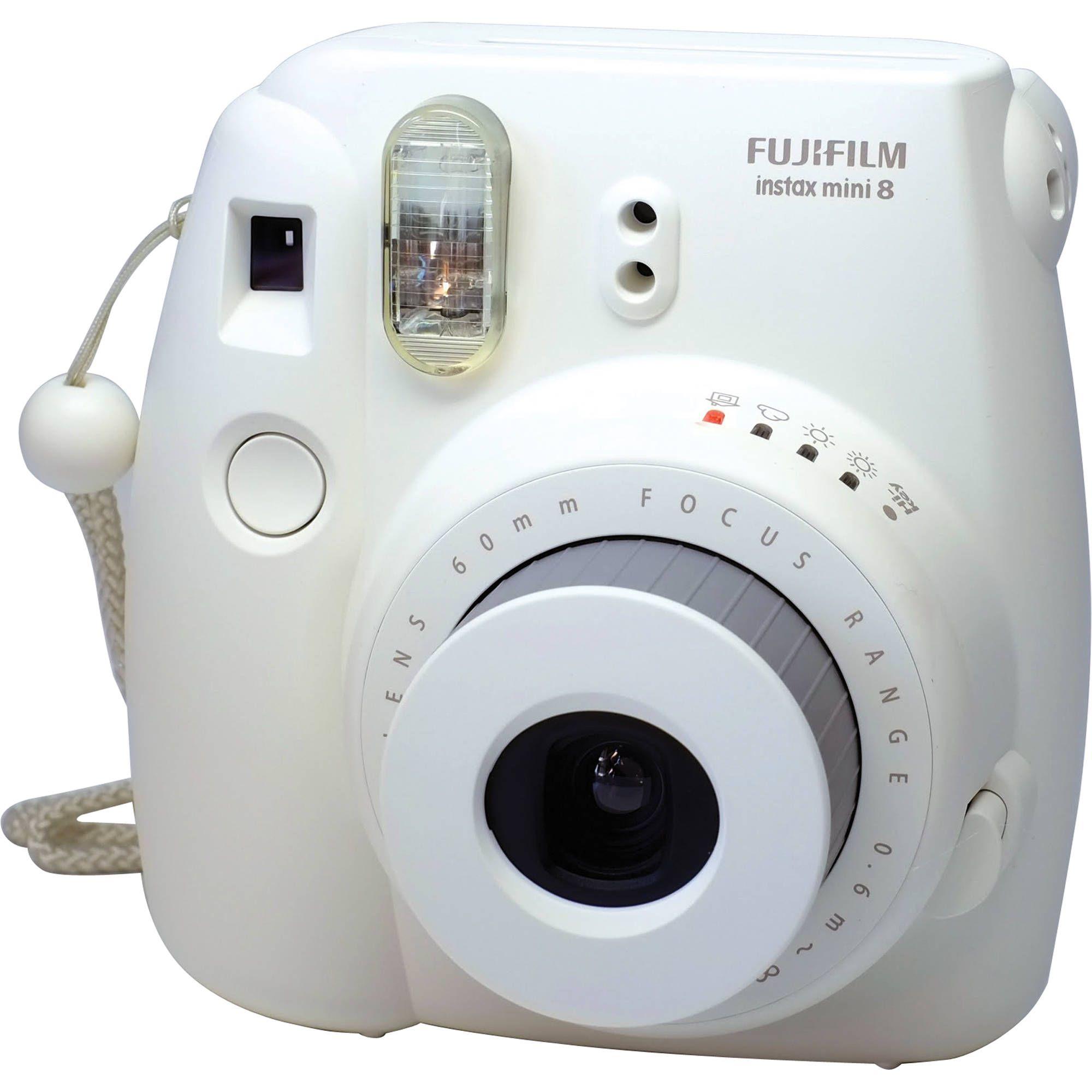 Fujifilm INSTAX Mini 8 Instant Film Camera (White) $69.99 film for ...