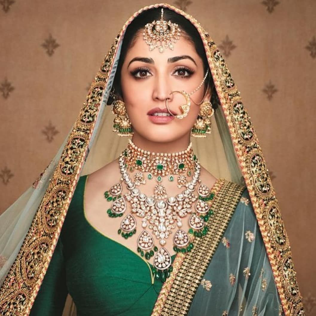 "Bridals.pk on Instagram: ""@yamigautam looks like an ethereal beauty in these jewels by Khimji Jewellers. 📸: @instakhimji  #bridalspk #bridalspkblog #bridalspkpicks…"""