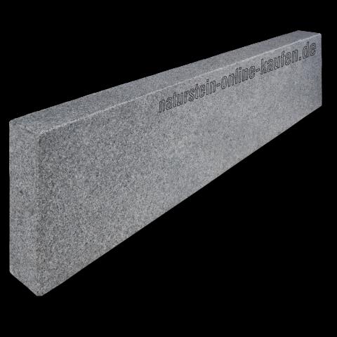 Bordstein Leistenstein Granit Anthrazit 100x25x8 Cm Leistensteine Granit Bordstein