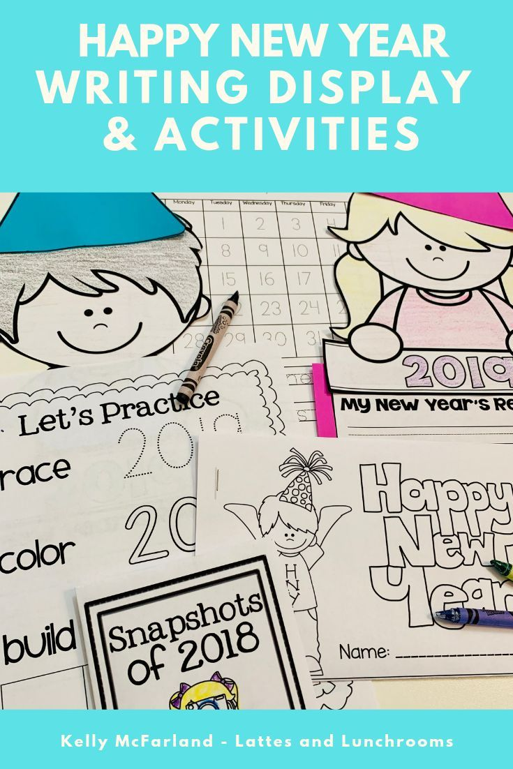 New Year Activities (2020) | New years activities ...