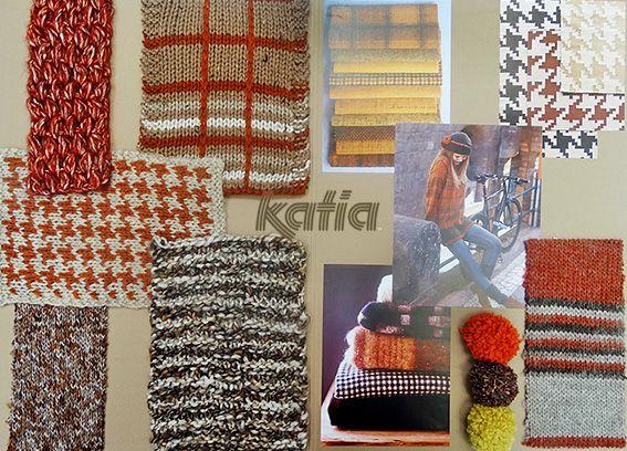Las 3 próximas tendencias Katia Otoño · Invierno 2014 / 2015: Natural and Grey, Multicolor Stripes y Textures   http://www.katia.com/blog/es/2014/07/22/3-tendencias-katia-otono-invierno-lanas/