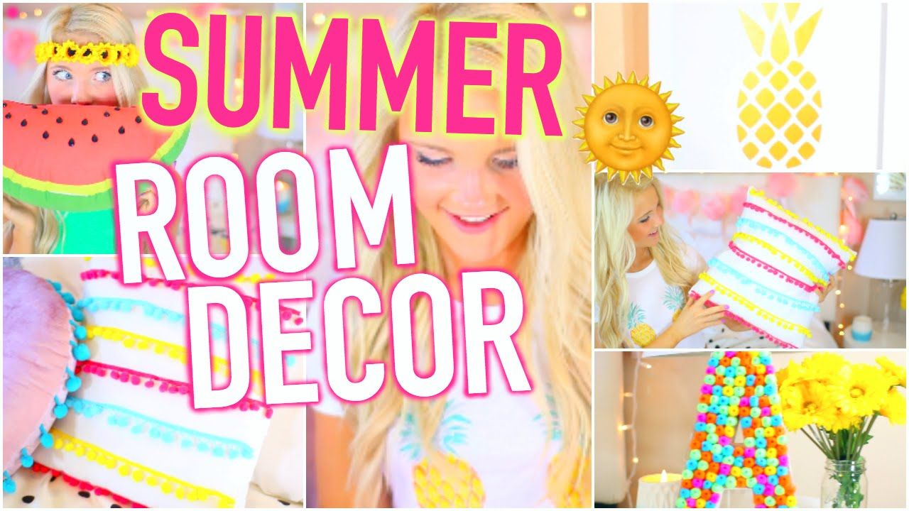 diy summer room decor: tumblr inspired! | summer | pinterest