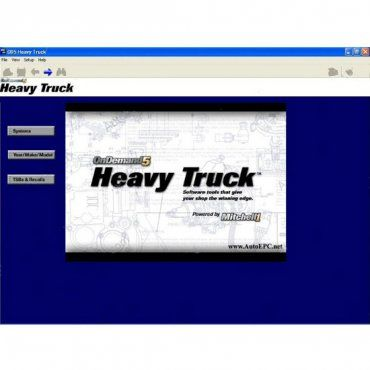 mitchell on demand2 heavy truck service manuals, repair manuals,  diagnostic, wiring diagrams, service specifications for heavy trucks, usa  market