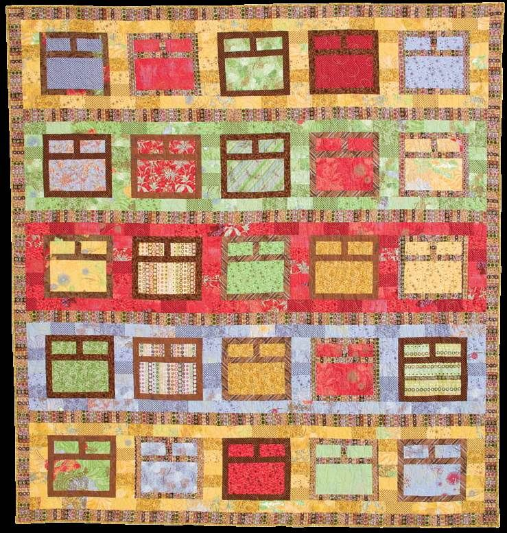 Quilt Inspiration: Free pattern day! House quilts | Patchwork ... : quilt inspiration free patterns - Adamdwight.com
