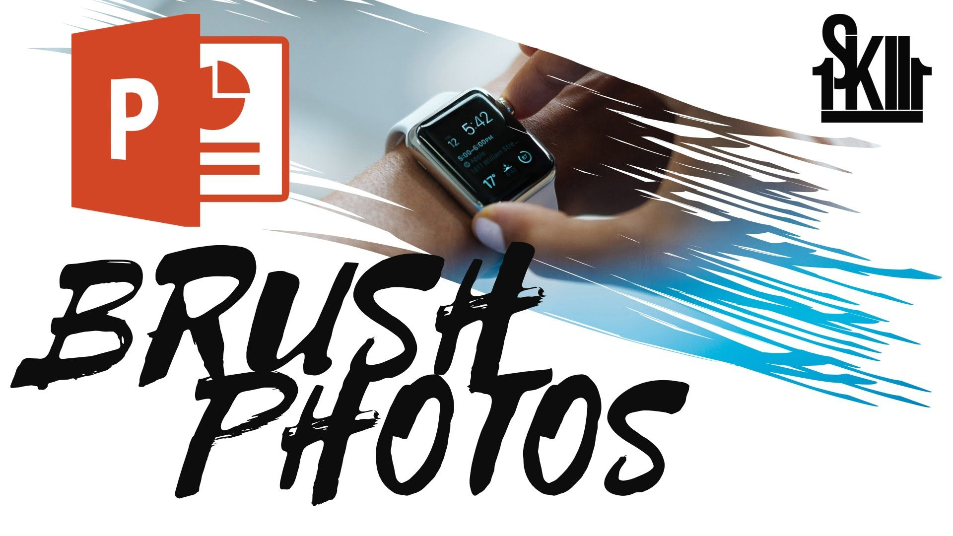 how to make awesome brush photos in powerpoint