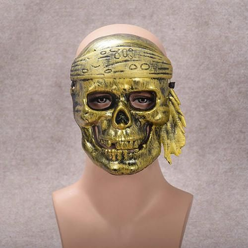 Halloween Mask of Terror Masquerade Full Face Skull and Bones Pirate Party Ghost