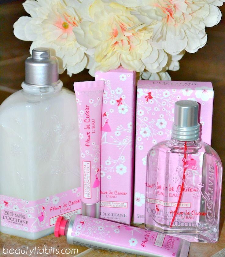 Sweet And Fresh L Occitane Cherry Blossom Blossom Perfume L Occitane Perfume