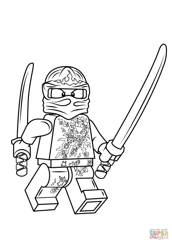 Malvorlagen Lego Ninjago Kostenlos Lego Ninjago Lego Kai