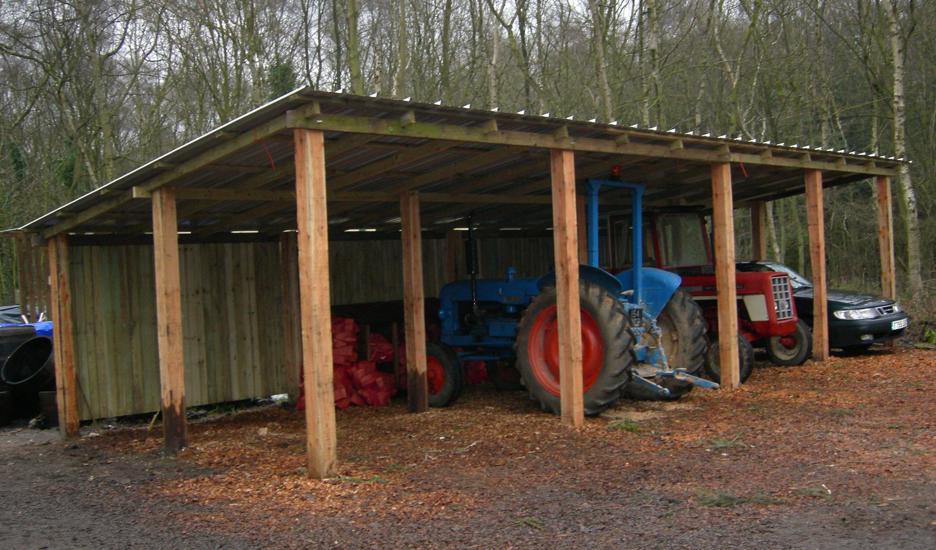 Image Result For Tractor Shed Poleshedplan Farm Shed Firewood