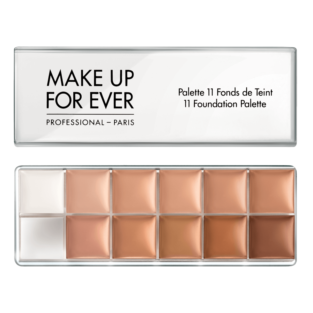 11 Foundation Palette Foundation MAKE UP FOR EVER (con