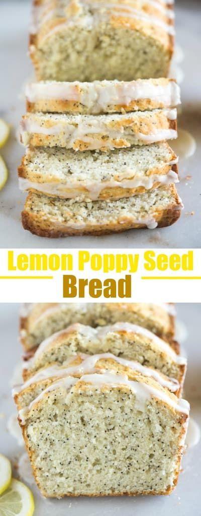 Lemon Poppy seed Bread images