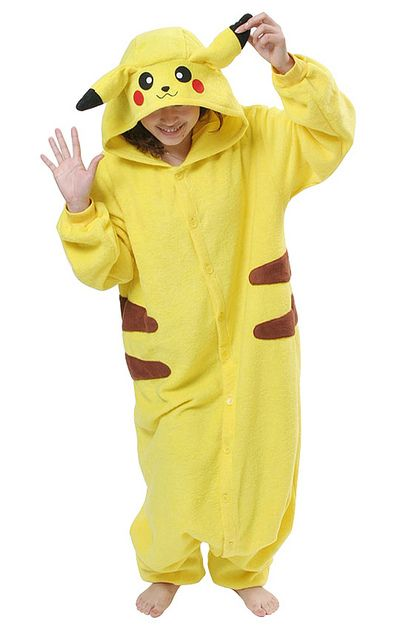617c5b47a5bd How cool are these are these animal onesies   )Pikachu Adult Onesie Pajamas