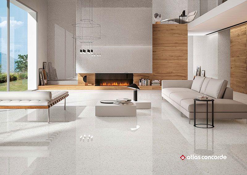 Marvel Terrazzo White Pol Https Www Tiles Co Nz Tile