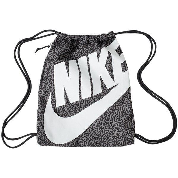 27b00efca63ff Nike Heritage Gymsack found on Polyvore Drawstring Backpack
