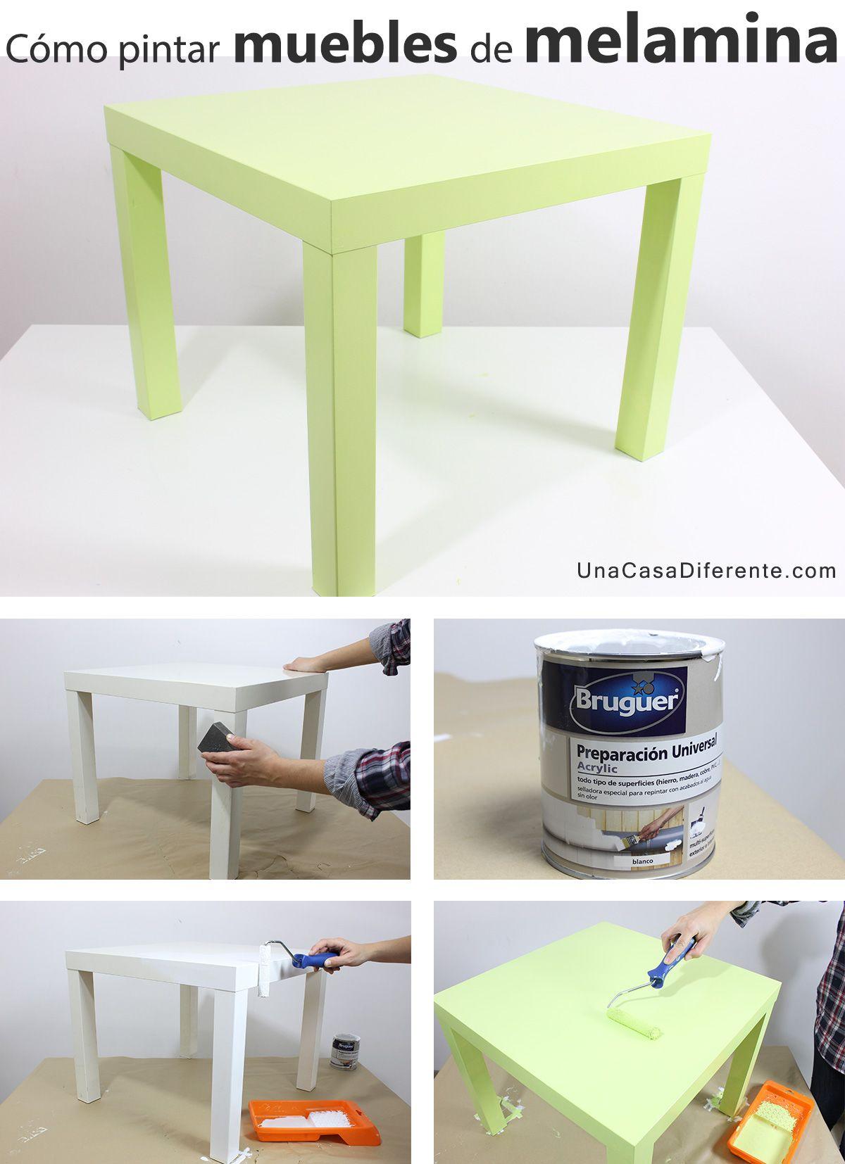 Quieres Pintar Muebles De Melamina Y No Te Atreves O No Sabes Qu  # Muebles Tipo Ikea